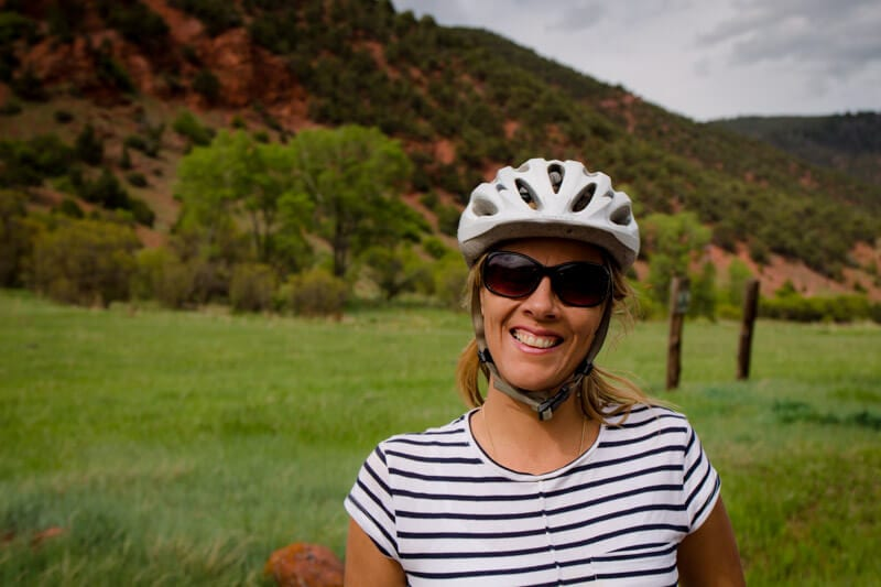 bike riding Snowmass Rio Grande trail (2)