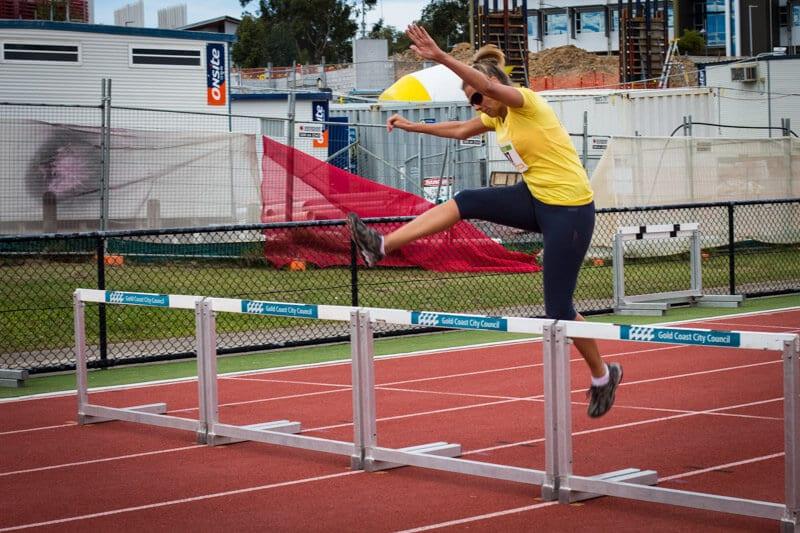 hurdles commonwealth games