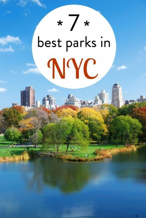 7 of the best parks in NYC. Looking for some green space amongst the Manhattan skyline? Check out this list.