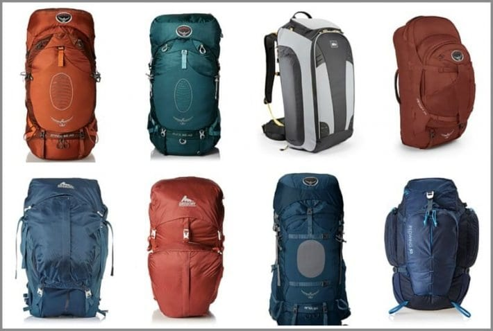 What are the best travel backpacks for easy traveling for Travel gear brand