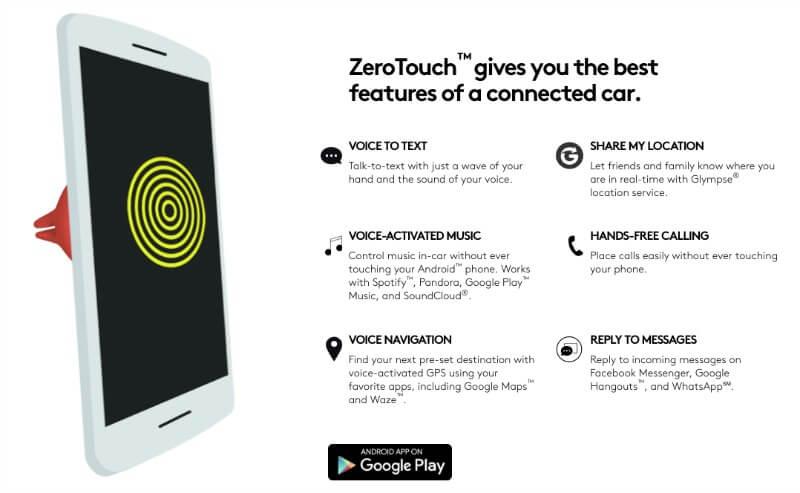 The Logitech Zero Touch App