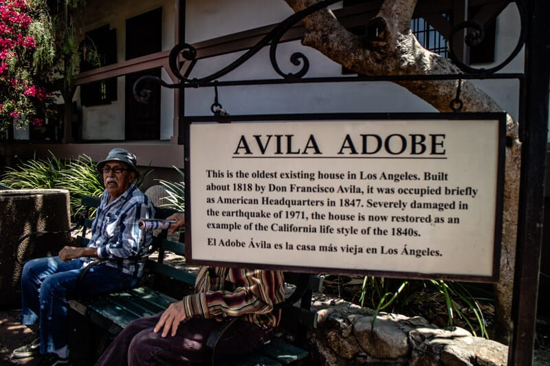 Avila Adobe Downtown LA