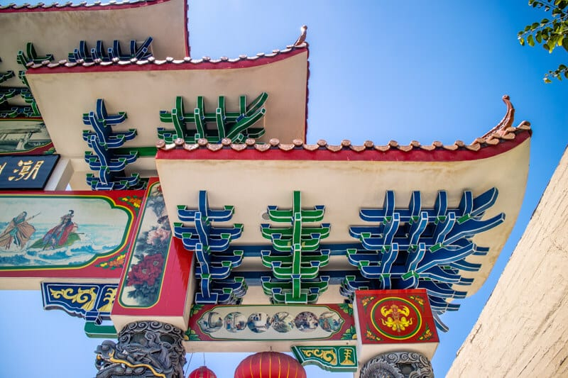 Temple de Chinatown LA