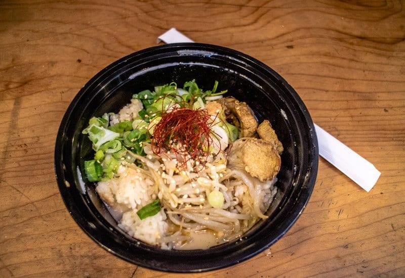 Ramen rice bowl