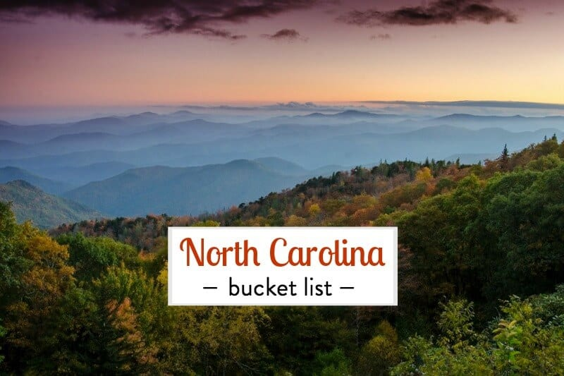 Help us create our things to do in North Carolina bucket list