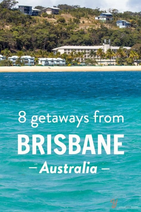 Are you visiting Brisbane on your trip to Australia? Here are 8 getaways from Brisbane once you're done with the city!