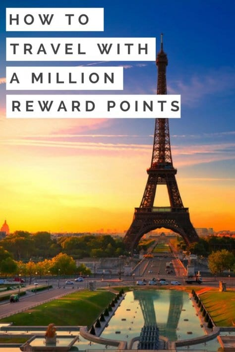 how to travel with a million reward points