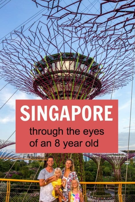 Singapore through the eyes of an 8 year old