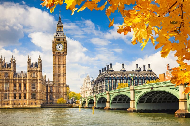 London - one of my travel bucket list destinations for 2017