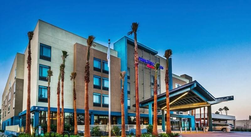 Springhill Suites, Anaheim - one of the best 3 star hotels near Disneyland
