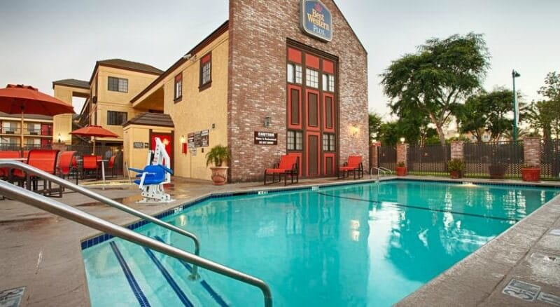 Best Western Inn & Suites, Anaheim, California - one of the best 3 star hotels near Disneyland