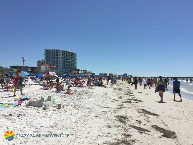 Clearwater Beach - one of the best places to visit in Florida