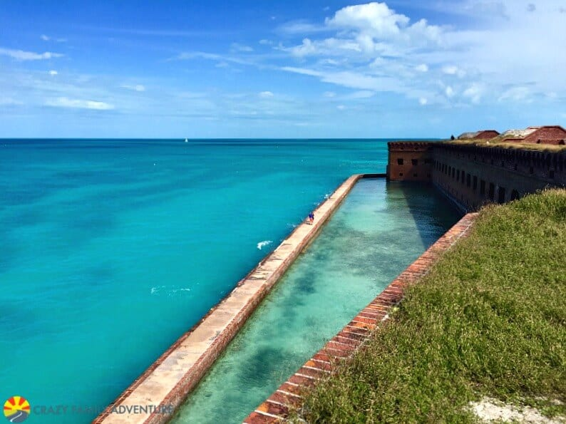 Dry Tortugas Wall, Key West - one of the best places to visit in Florida