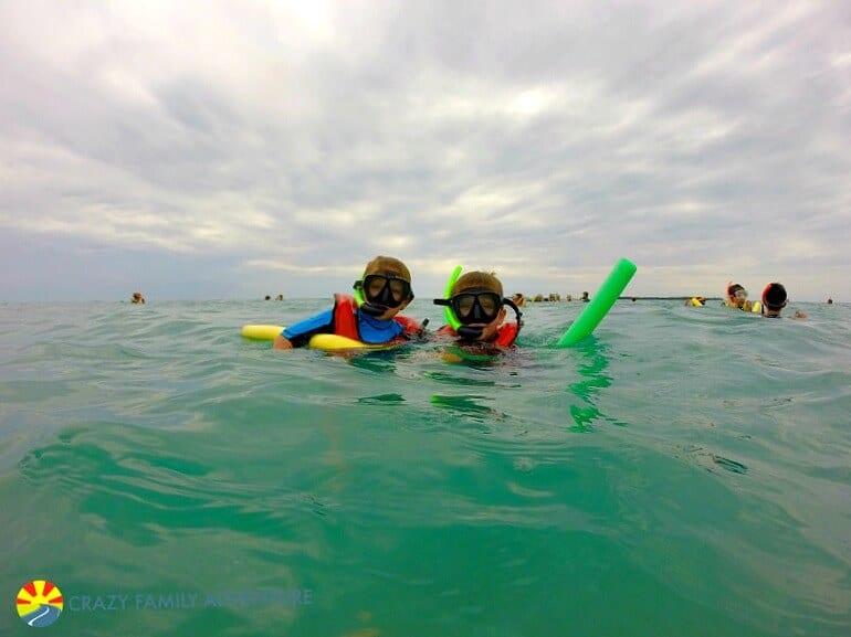 Snorkeling à Key West, en Floride