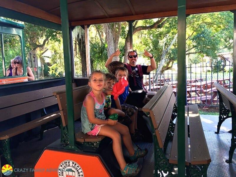 St Augustine Trolley - Florida