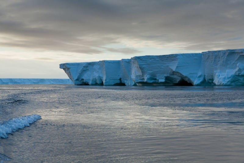 The Ross Ice Shelf - Antarctica