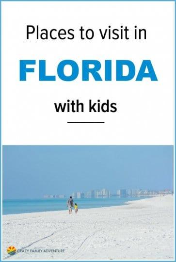 18 de los mejores lugares para visitar en Florida con niños