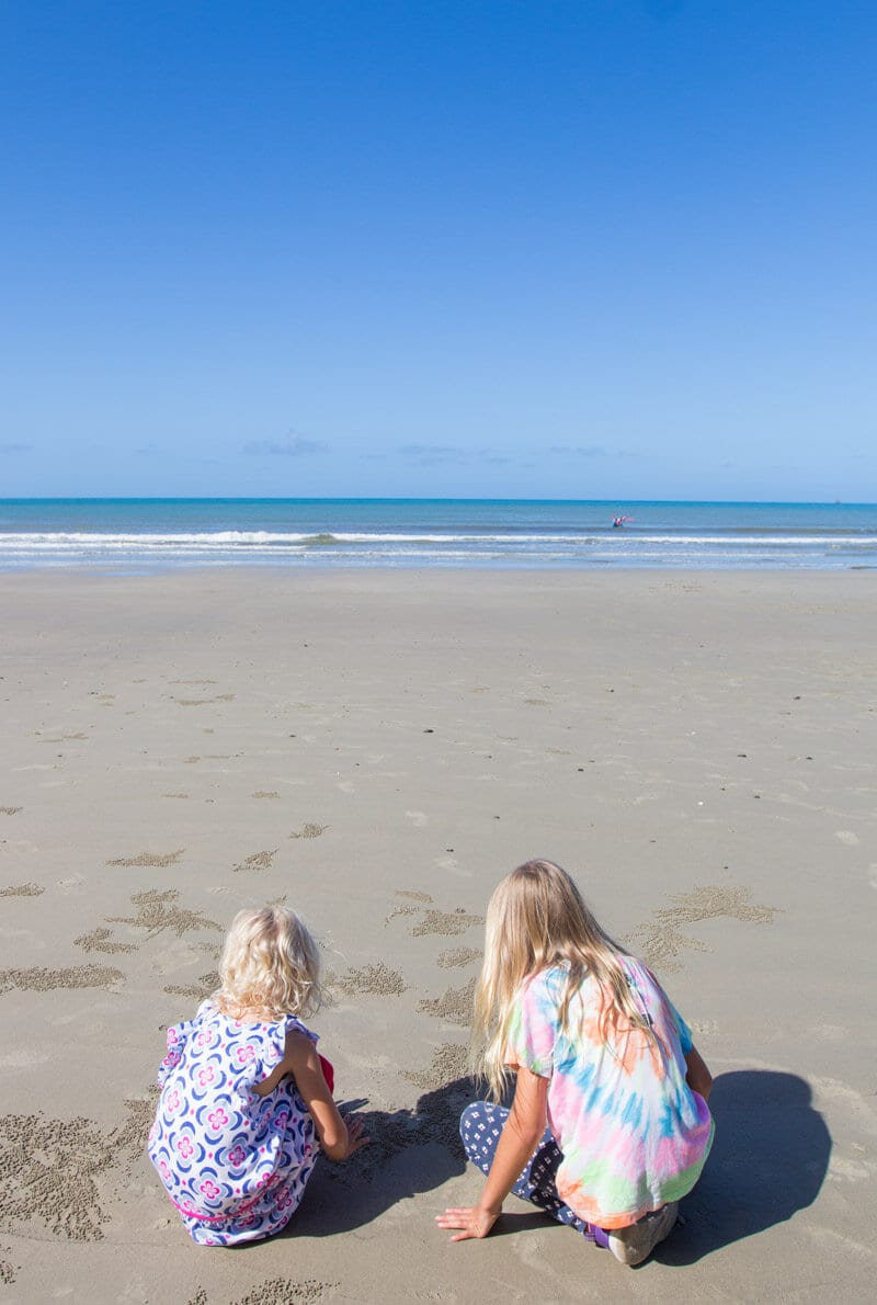 Cape Tribulation Beach - Daintree Rainforest, Queensland, Australia