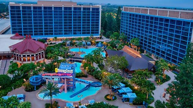 Disneyland Hotel, Anaheim, Califórnia