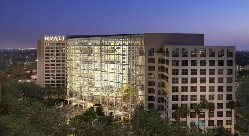 Hyatt Regency, Anaheim - one of the best 4 star hotels near Disneyland