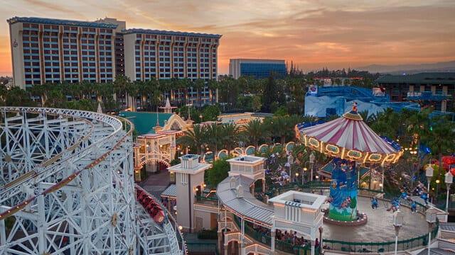 Disney Paradise Pier Hotel - Anaheim, Califórnia
