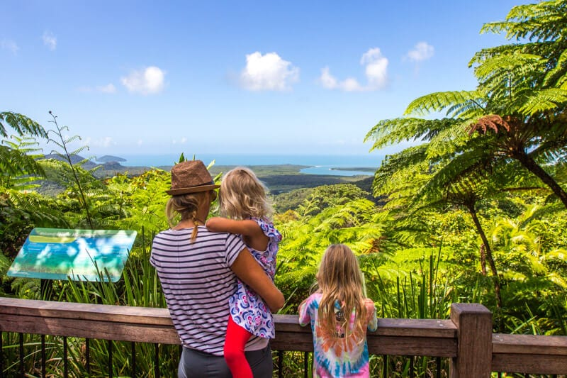 Alexandra Lookout - Daintree Rainforest, Queensland, Australia