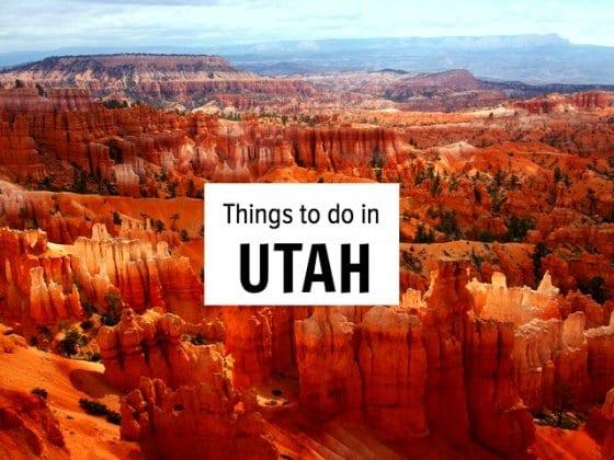 Our things to do in Utah bucket list
