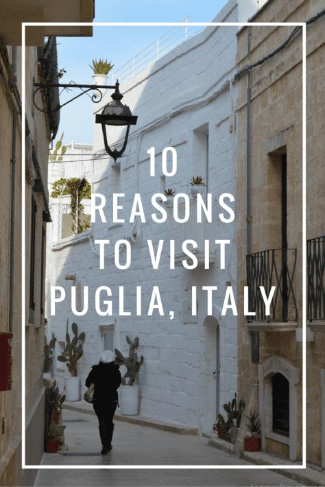 visit Puglia Italy