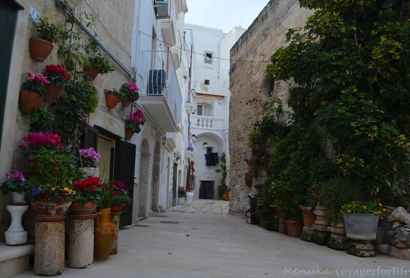backstreets Puglia