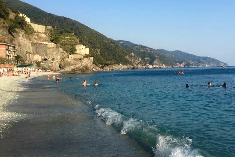 Monterossa Beach - things to do in Cinque Terre, Italy
