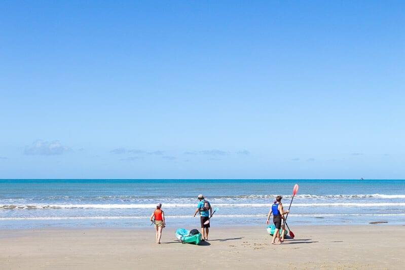 Cape Tribulation Beach - Daintree rainforest, Australia