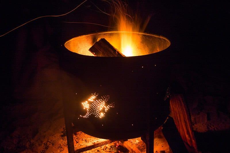 Enjoy a campfire at Cape Trib Beach House- Daintree Rainforest, Australia