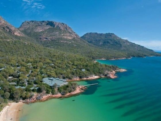 Freycinet Lodge - lovely place to stay in Freycinet National Park, Tasmania, Australia