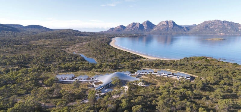 Saffire Freycinet - luxury accommodation at Freycinet National Park, Tasmania