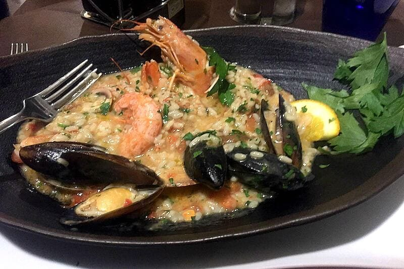 Eat seafood Risotto - things to do in Cinque Terre, Italy