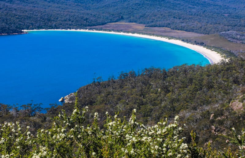 Wineglass Bay - Freycinet National Park, Tasmania, Australia
