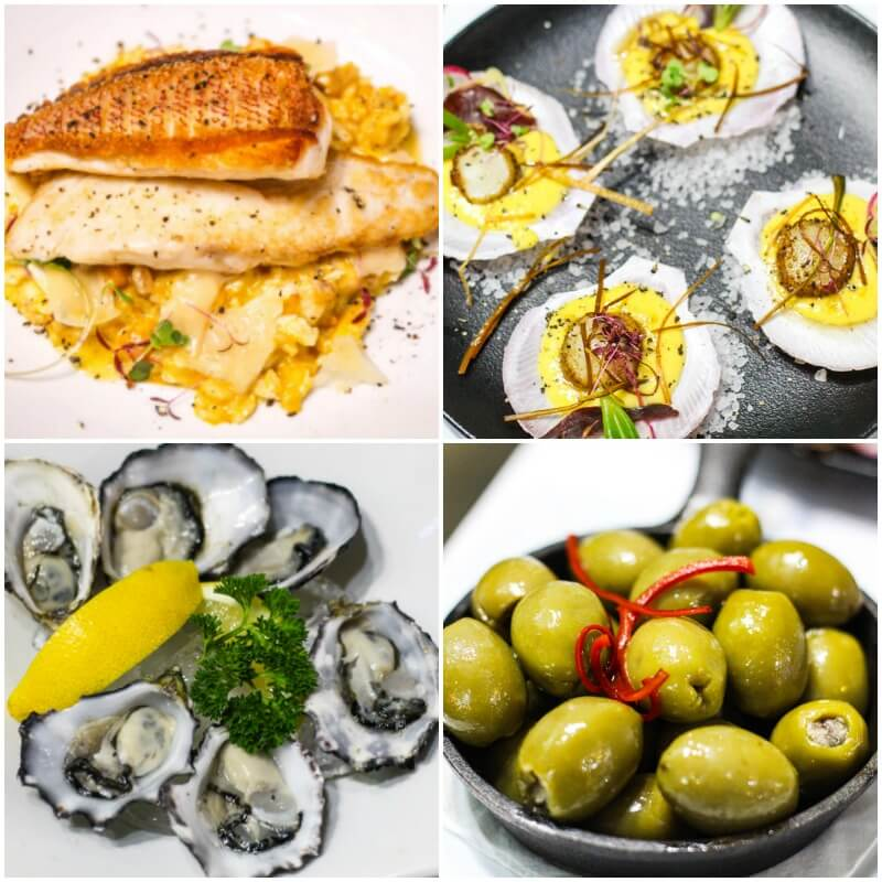 Saefood dinner at 2Fish Restaurant, Port Douglas, Queensland, Australia