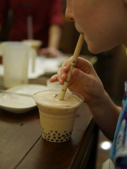 Bubble Tea Taichung Taiwan is a popular drink. You can learn how to make it in Taiwan. Click to read more things to do in Taiwan with kids.