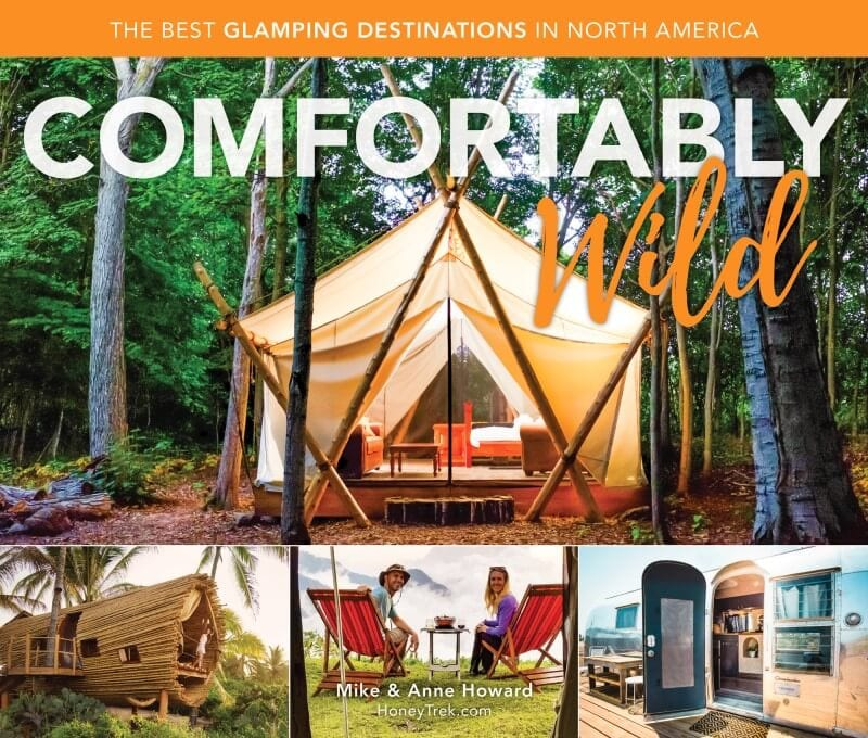 Comfortably wild glamping travel gift
