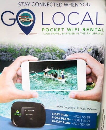 Golocal is the best wifi device for travel in the Philippines. Click to read more
