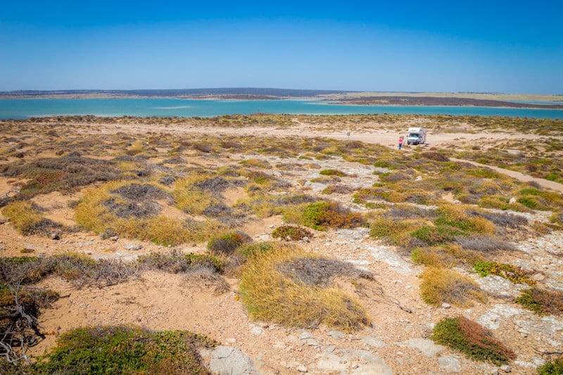 Leo Cummings Monument is a fantastic scenic lookout on the West Coast of the Eyre Peninsula to visit on your road trip with kids in South Australia. Click to read more tips on things to do on the Eyre Peninsula
