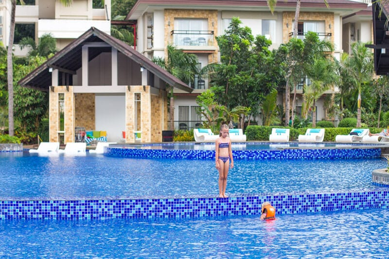 Movenpick Resort is one of the best places to stay for families on Boracay Island. Click to read our top things to do in Boracay