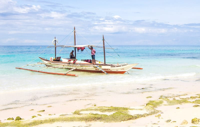 Punta Bunga Beach Boracay is one of the best things to do in Boracay Island the Philippines. Click to read more travel tips for Boracay with kids