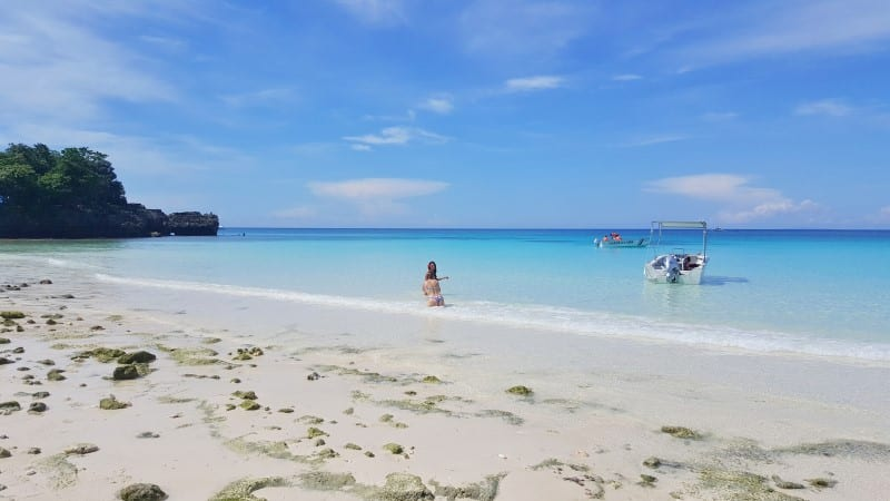 Private Punta Bunga Beach is one of the reasons we loved staying at the Movenpick Resort Boracay Island in the Philippines. You can read more about this family friendly resort in our blog