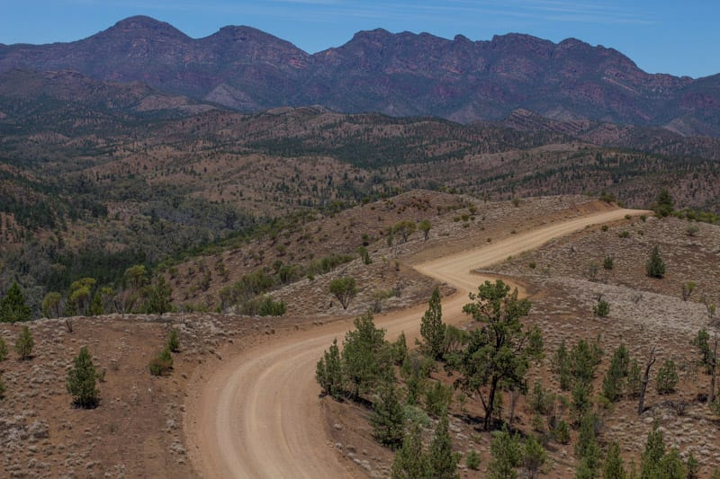 Razorback Lookout is one of the most scenic viewpoints in Australia and ne of the best things to do in the Ikara Flinders Ranges National Park. Click to read more about this beautiful region to visit in South Australia.