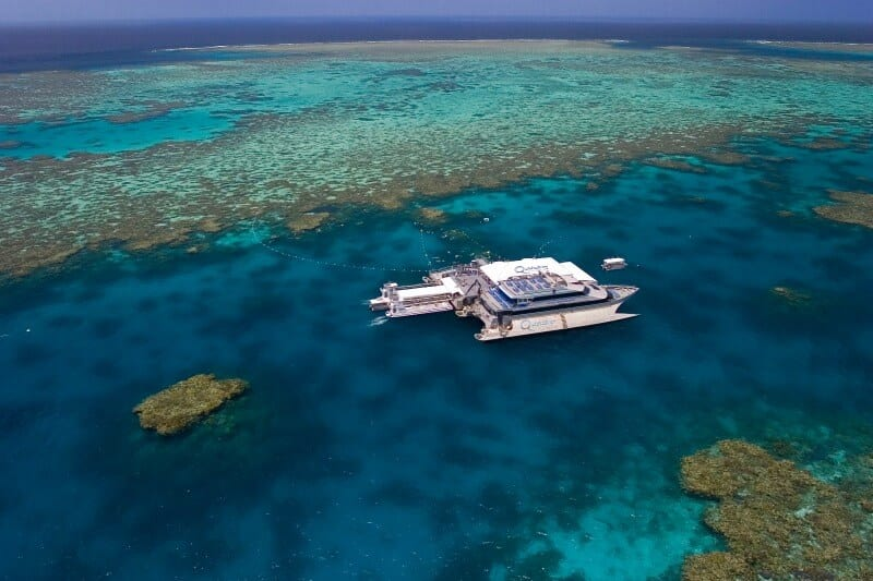 Agincourt Reef - one of the best places to snorkel on the Great Barrier Reef in Australia