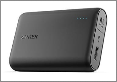 Anker Portable Charger - one of the best travel gifts for travelers