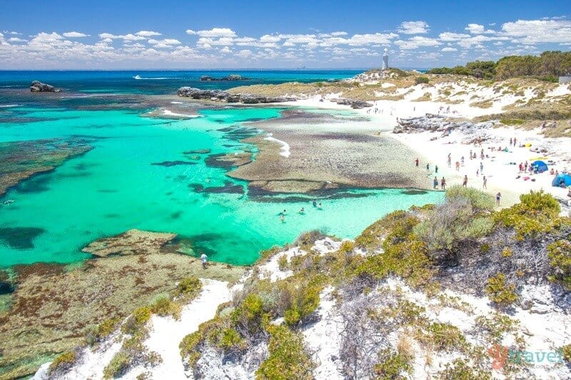 The Basin on Rottnest Island, Western Australia