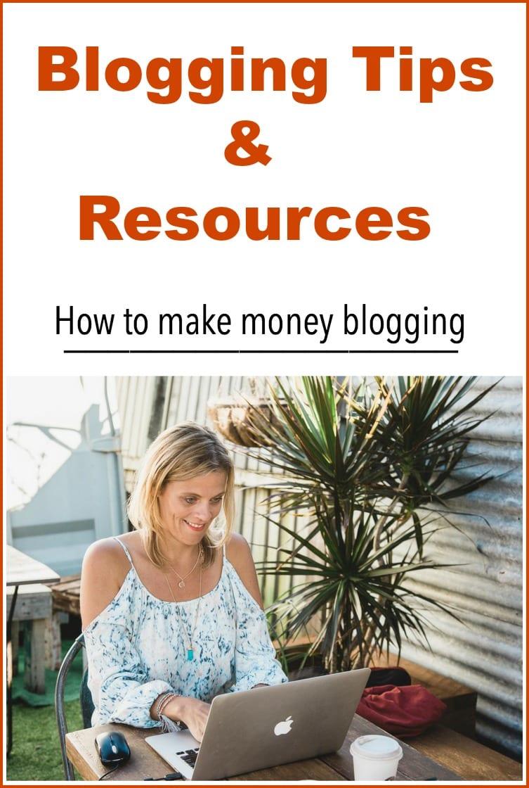 make money from blogging south africa start blog