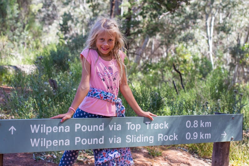 Wilpena Pound in the The Ikara Flinders Ranges National Park is one of the best places to visit in Australia. It has plenty of great hikes for kids. Click to read more about this beautiful region to visit in South Australia.
